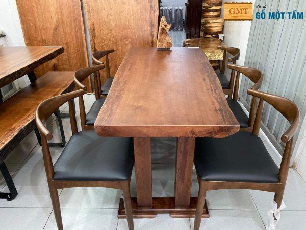 mẫu bàn ăn gỗ gụ