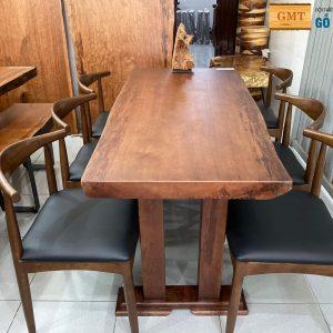 bàn ăn gỗ gụ nam phi giá rẻ
