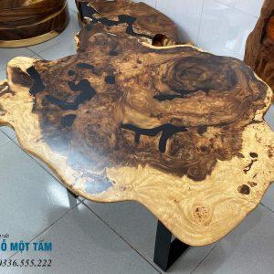 bàn trà gỗ me tây
