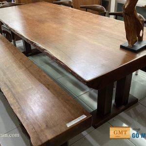 bàn ghế ăn gỗ tự nhiên giá rẻ