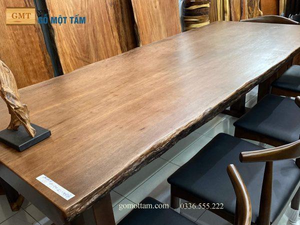 mẫu bàn ghế ăn gỗ cho gia đình