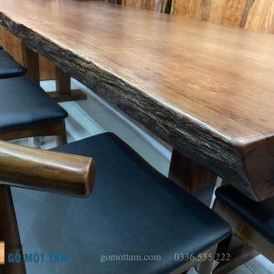 mẫu bàn ghế ăn gỗ tự nhiên đẹp