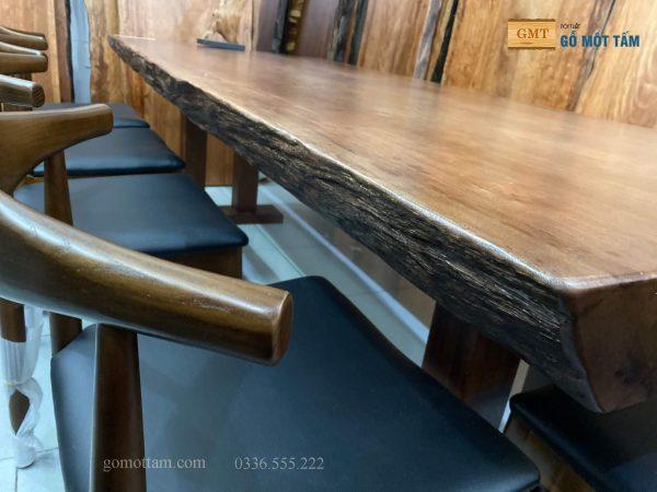 mẫu bàn ghế ăn gỗ tự nhiên đẹp nhất