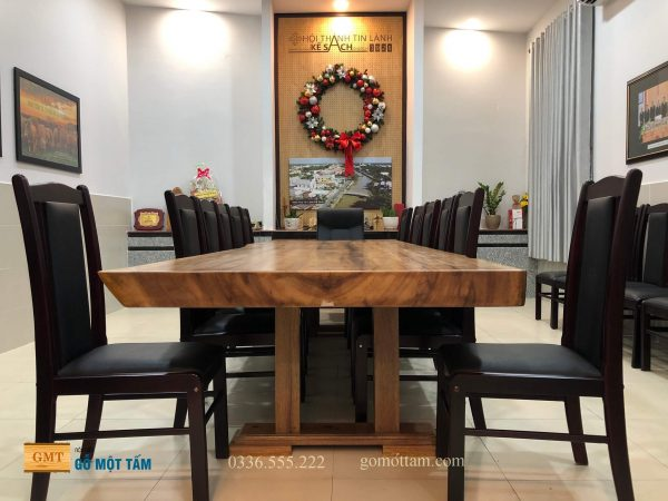 Mặt bàn gỗ lim nguyên tấm giá rẻ