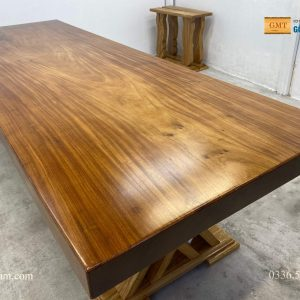 mặt bàn gỗ lim nguyên tấm