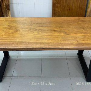 bàn nguyên tấm gỗ lim