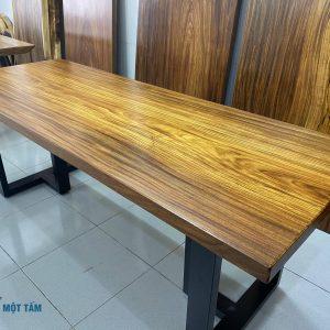 mặt bàn gỗ lim