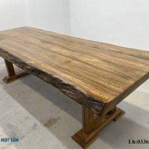 bàn gỗ lim nguyên tâm