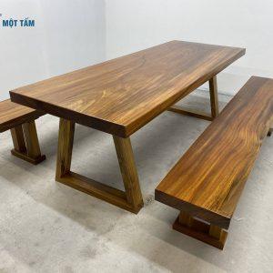 bộ bàn ăn nguyên tấm