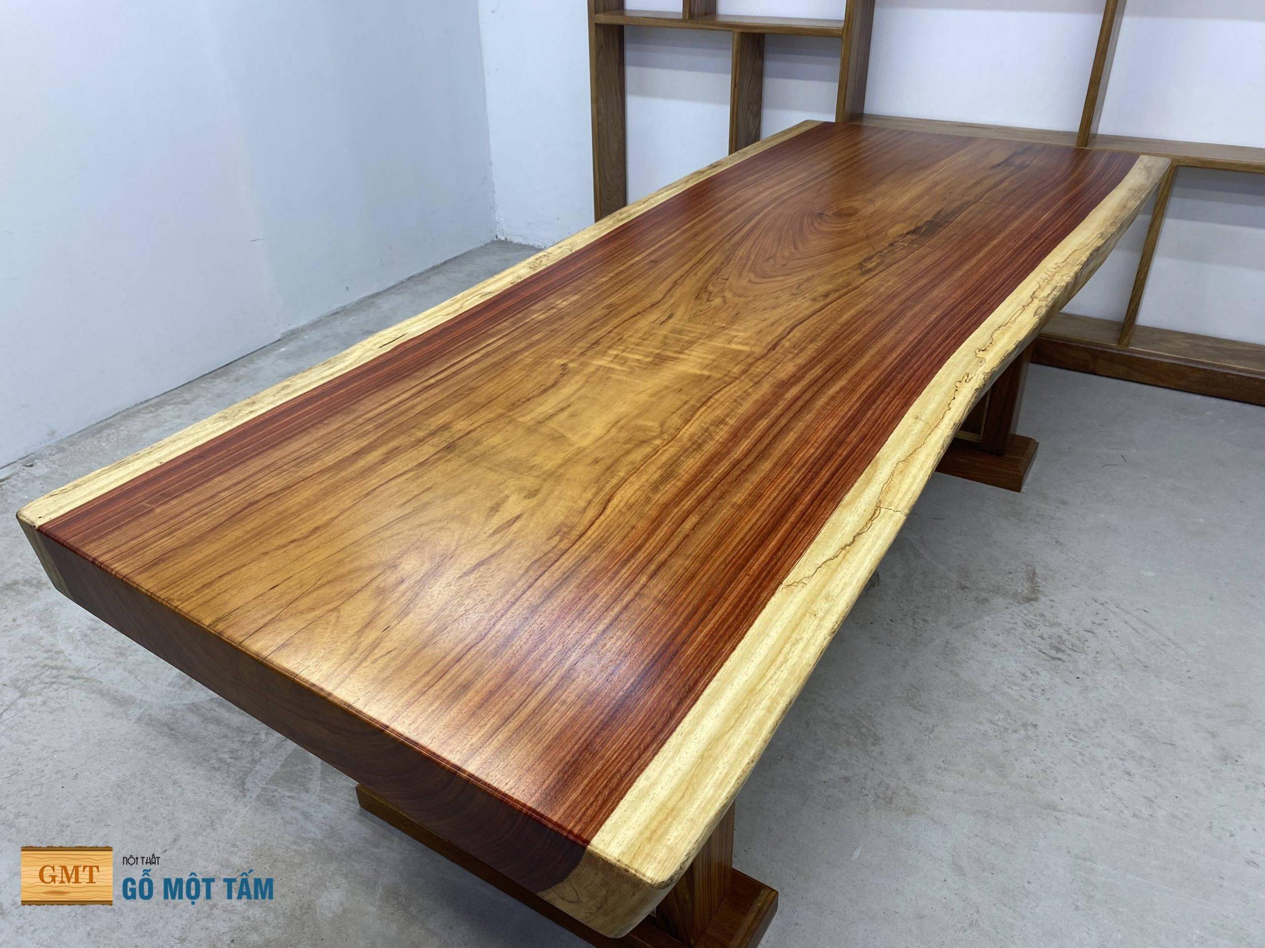 mặt bàn gỗ hương