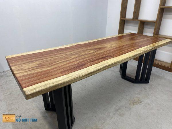 mặt bàn gỗ hương nguyên tấm