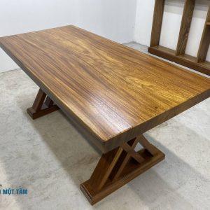 bàn gỗ lim nguyên tấm giá rẻ