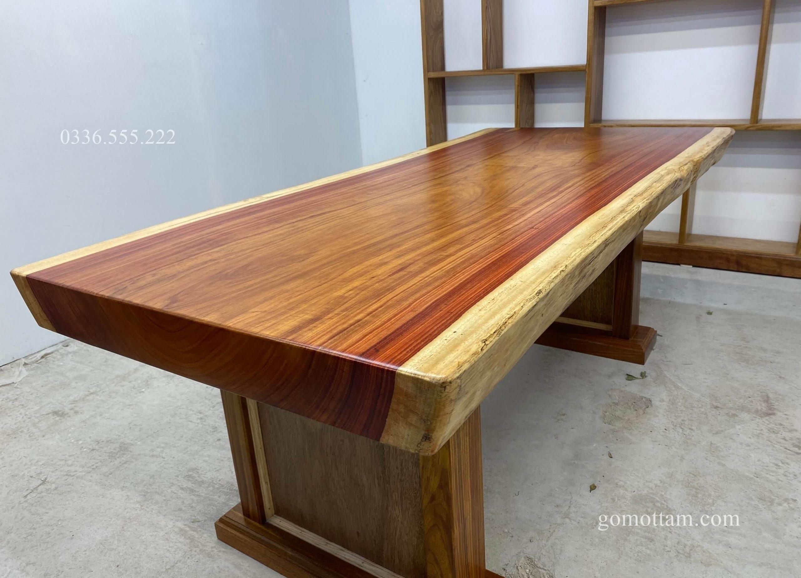 bàn gỗ hương 1