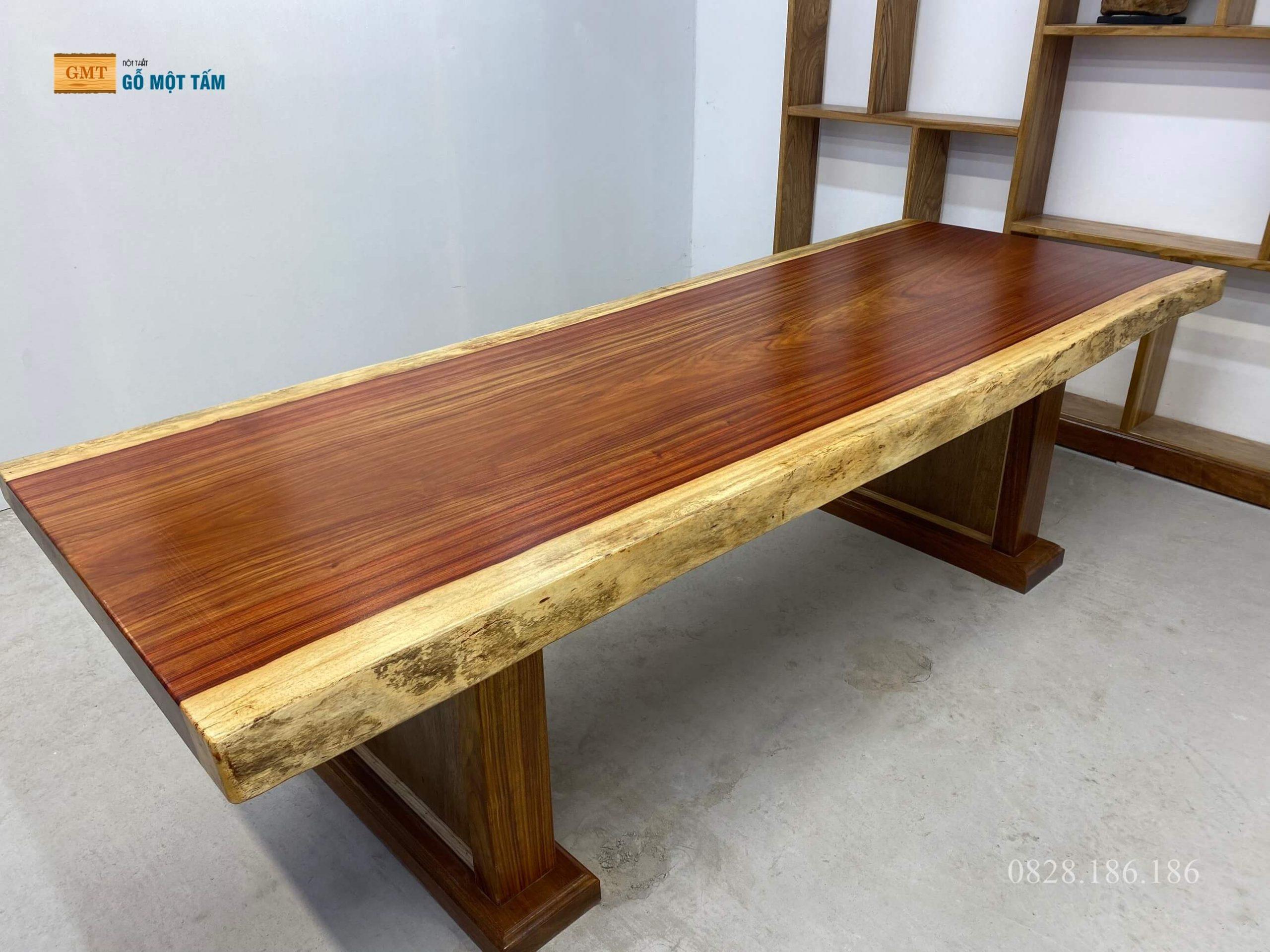 bàn gỗ hương đỏ 1
