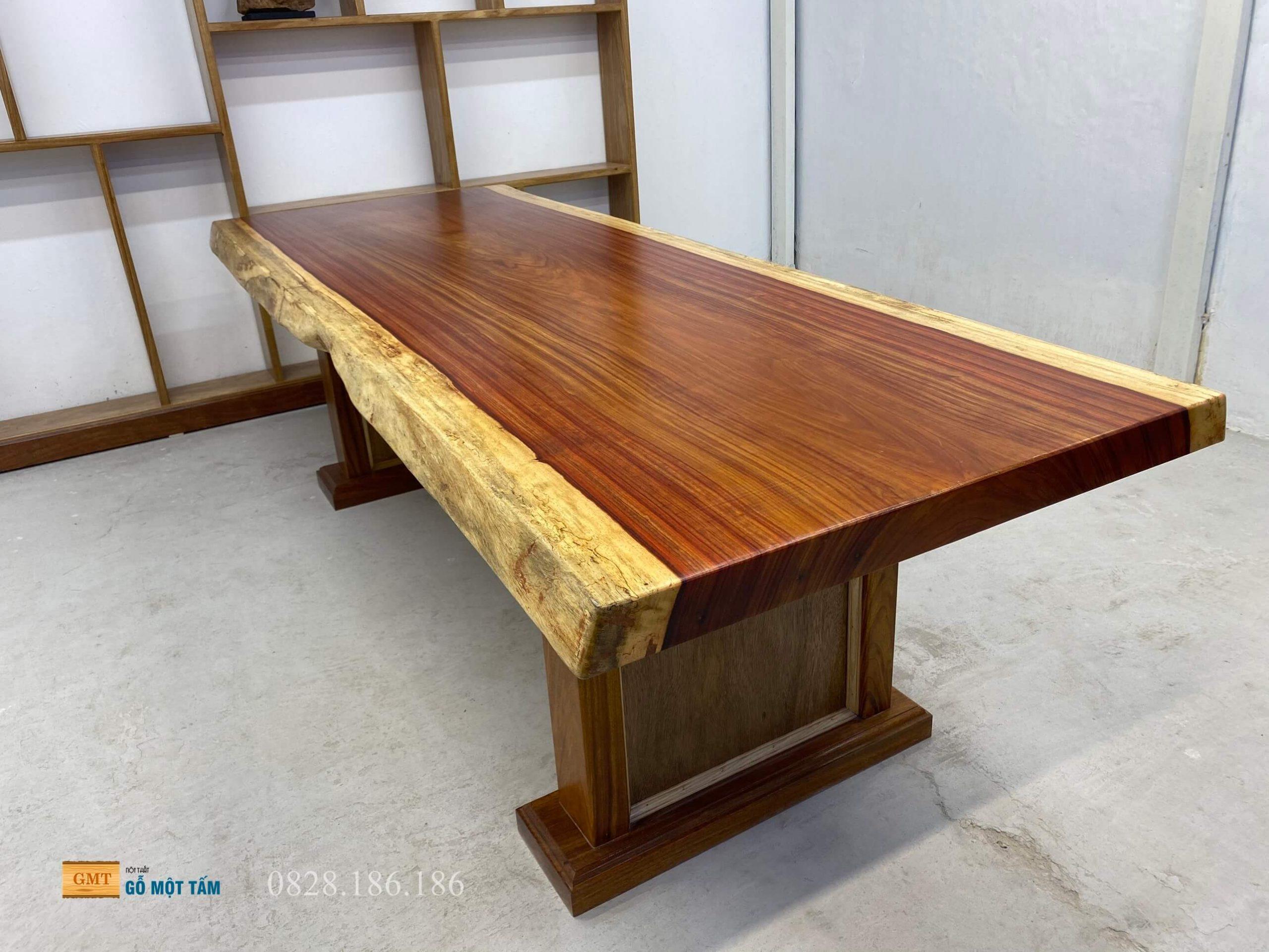 bàn gỗ hương đỏ 2