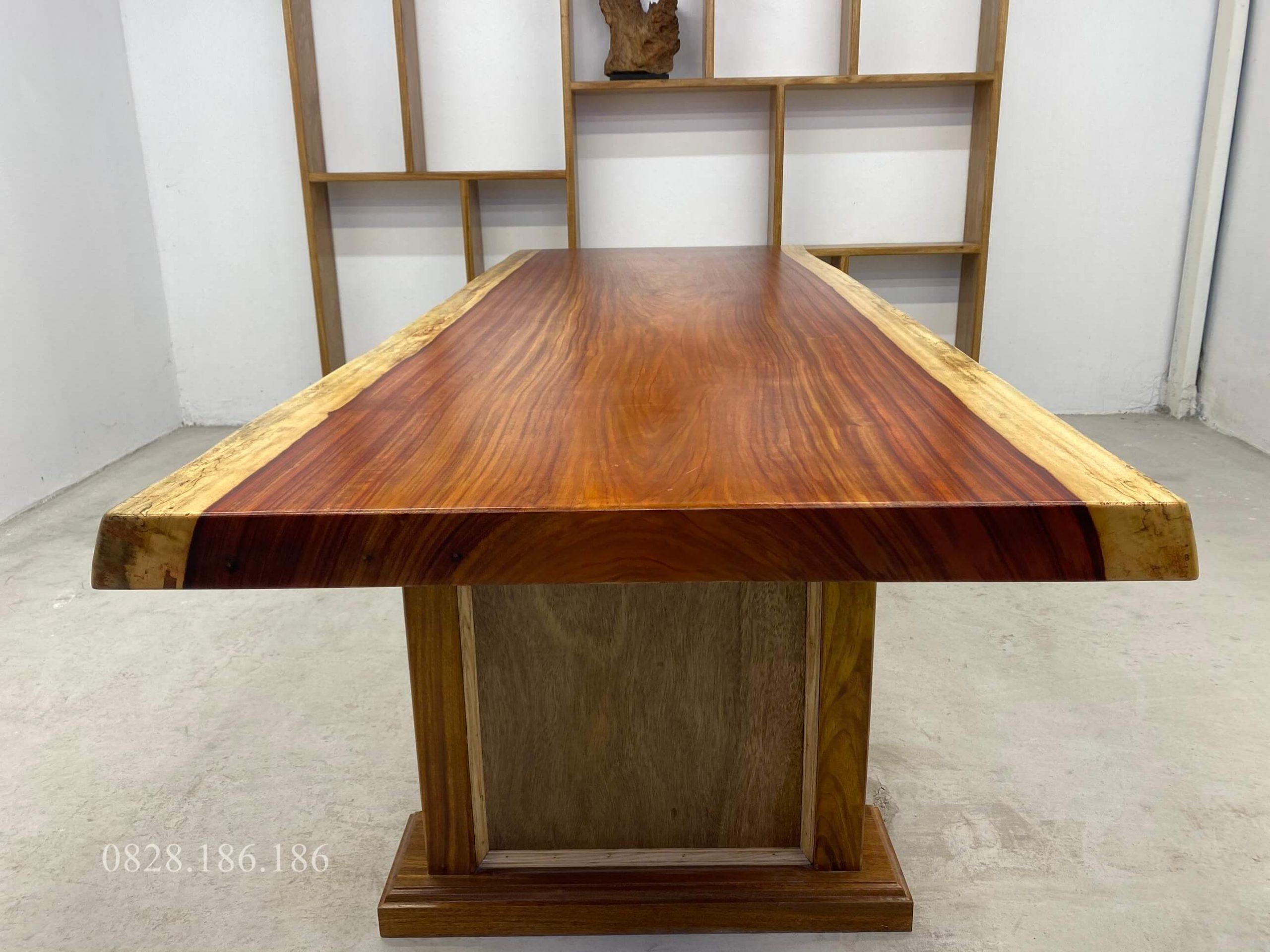bàn gỗ hương đỏ hcm