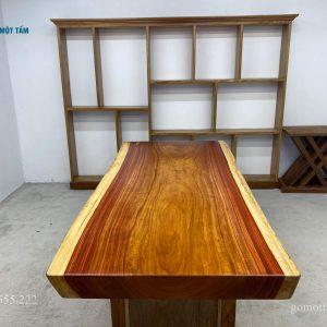 bàn gỗ hương nguyên tấm