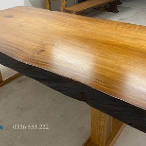 bàn họp gỗ tự nhiên 1