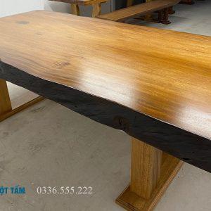 bàn họp gỗ tự nhiên đẹp