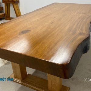 bàn họp gỗ tự nhiên nguyên khối