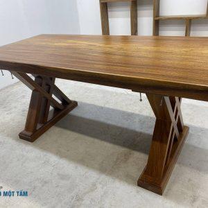 mặt bàn gỗ lim nguyên khối