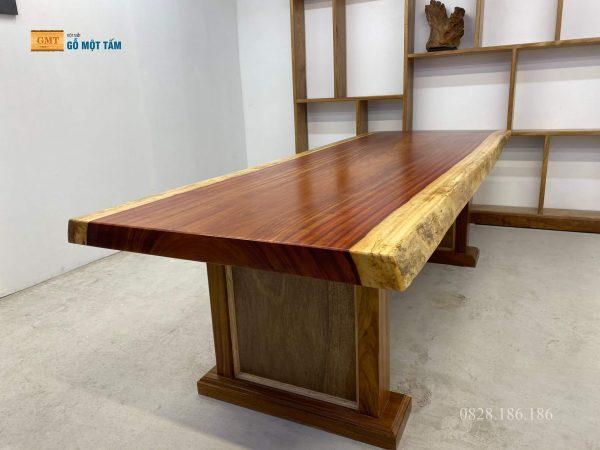 gỗ hương đỏ nguyên khối