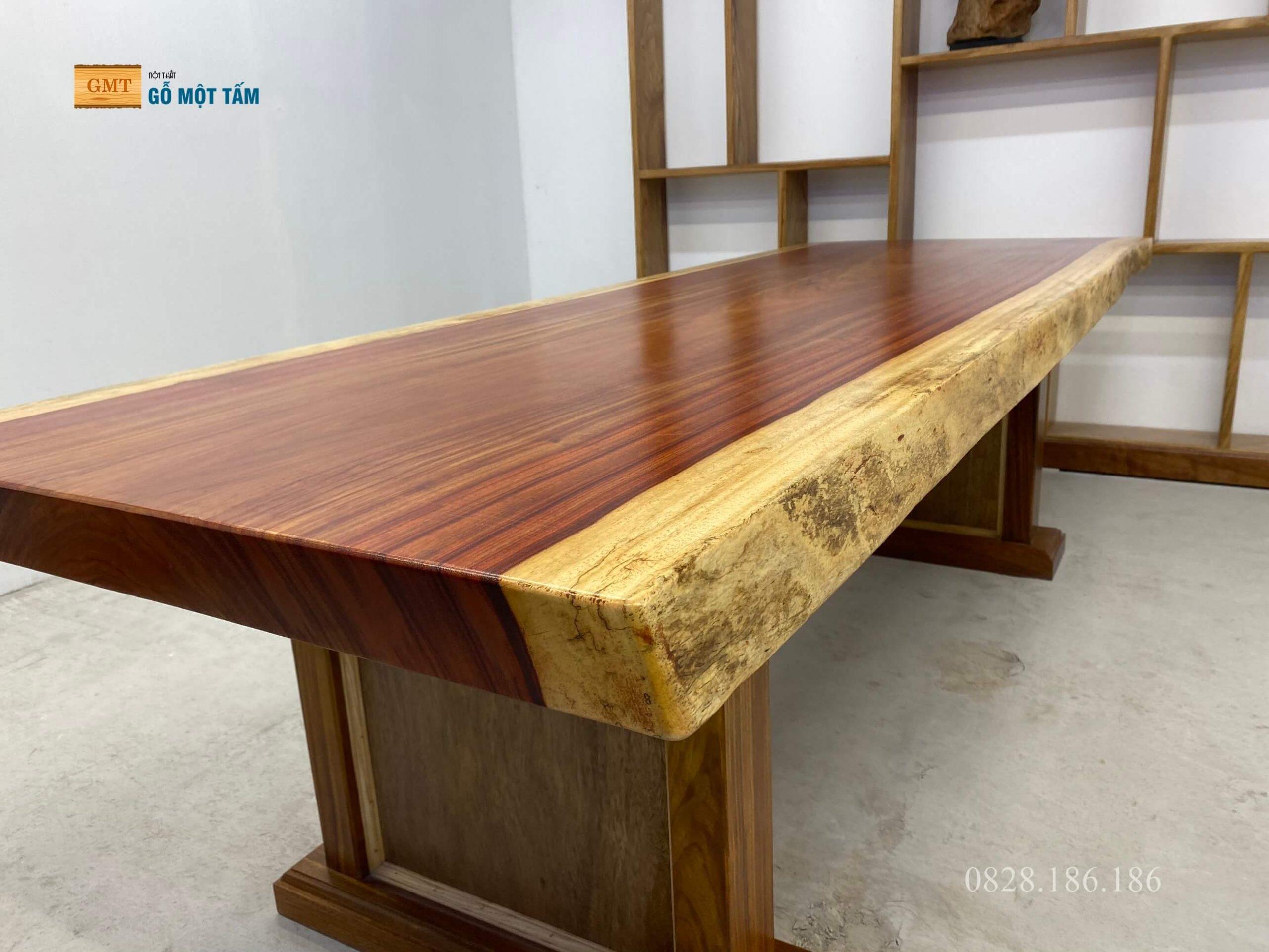 gỗ hương đỏ nguyên tấm