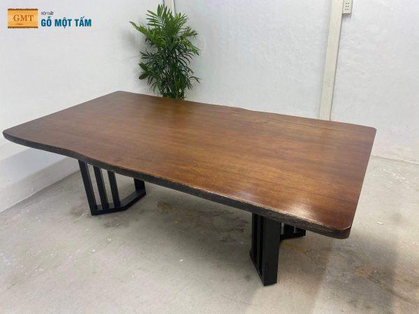 bàn gỗ lim tự nhiên nguyên khối