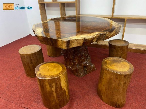 đôn ghế gỗ sao việt