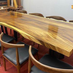 Mặt bàn gỗ me tây đẹp nhất 1