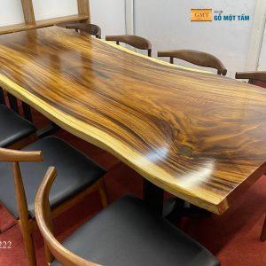 Mặt bàn gỗ me tây đẹp nhất 3