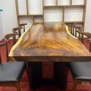 Mặt bàn gỗ me tây giá rẻ 1
