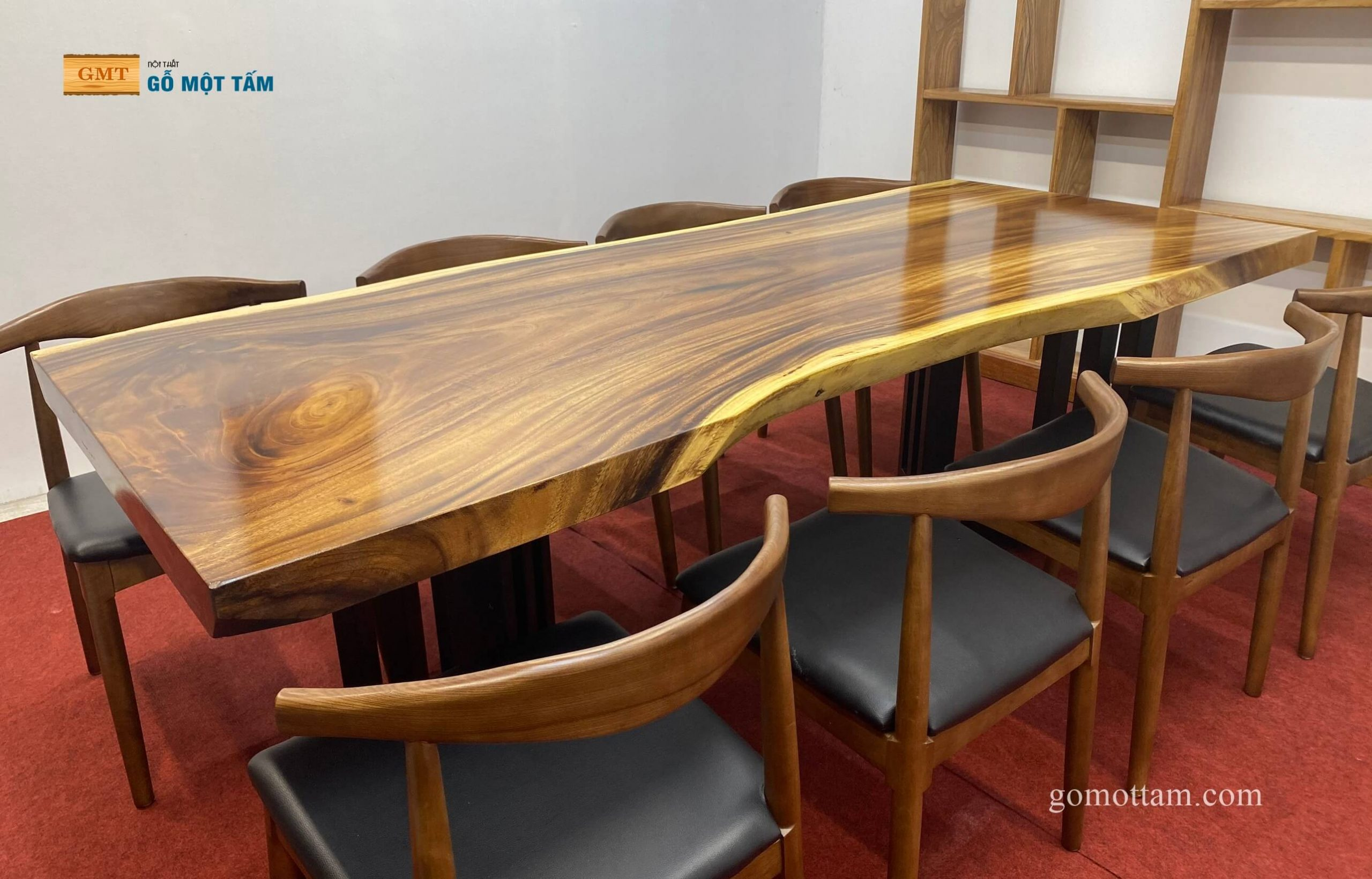 bàn ăn gỗ me tây hcm
