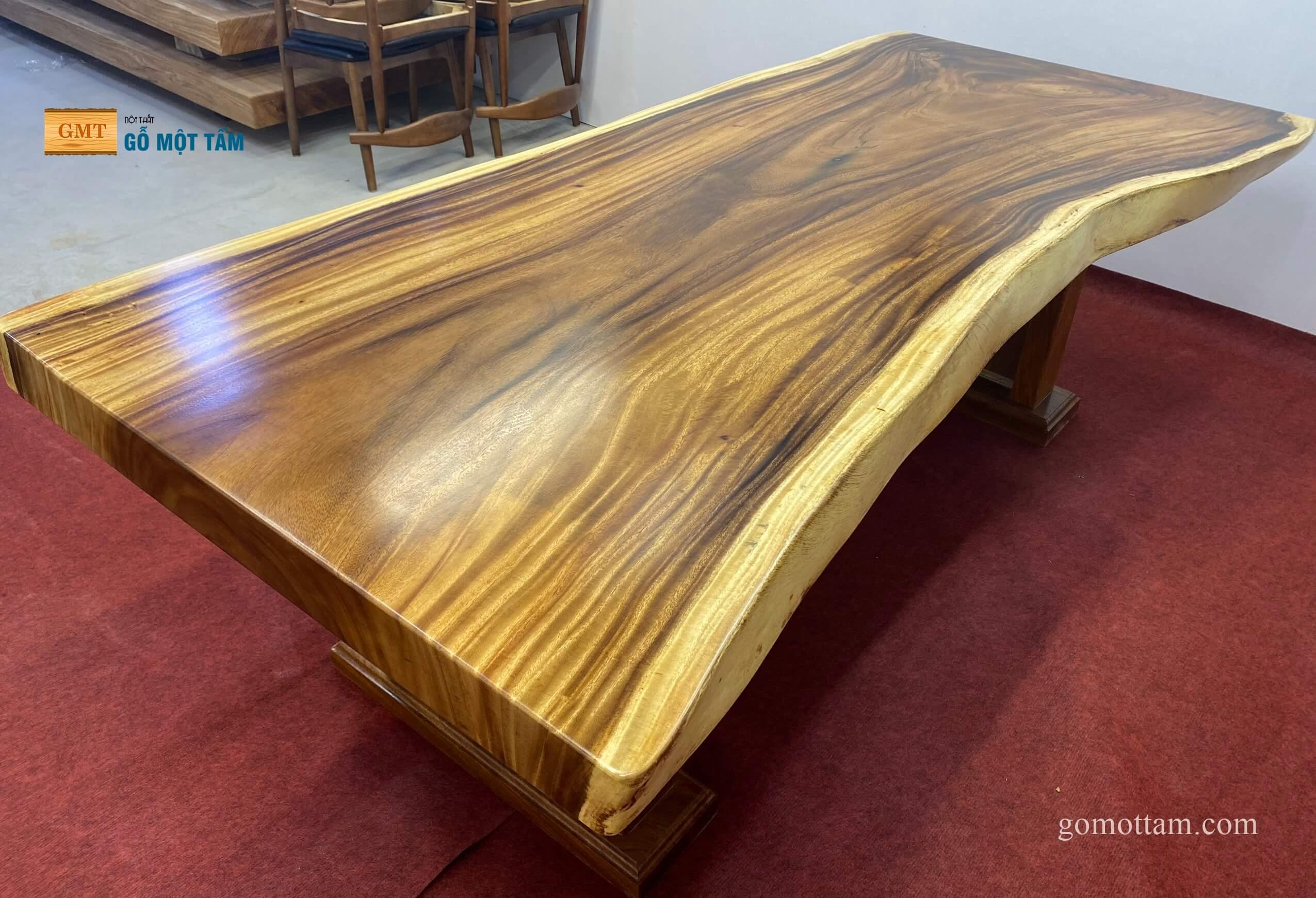 bàn gỗ me tây nguyên khối 1