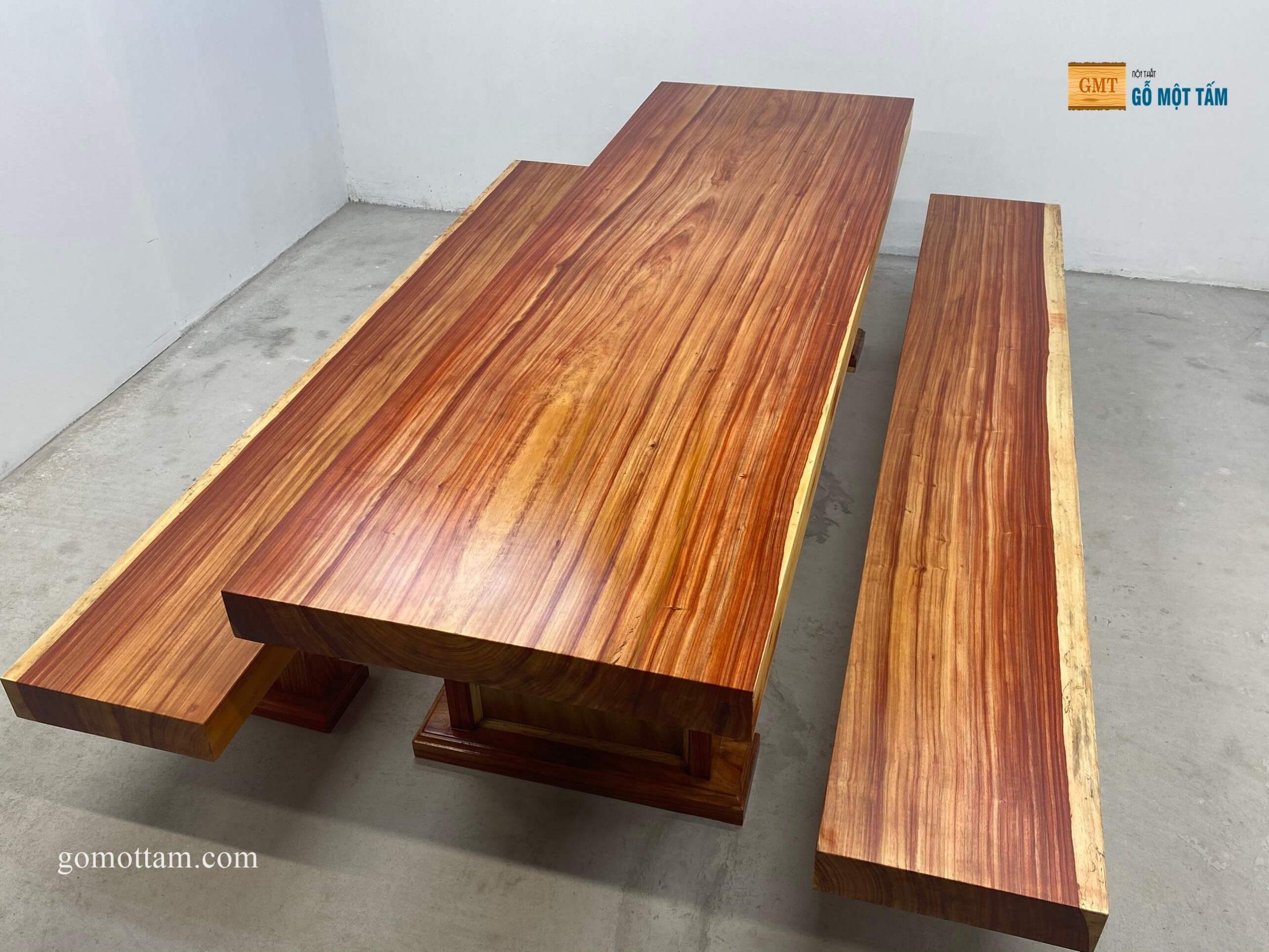 bàn k3 gỗ hương đỏ