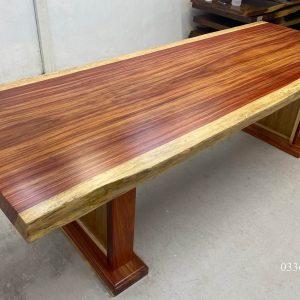 bàn làm việc gỗ hương đỏ