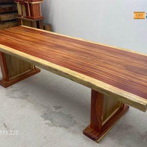 bàn gỗ nguyên khối đẹp nhất